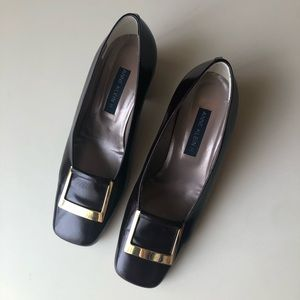 Anne Klein II Brown Pumps, Size 8